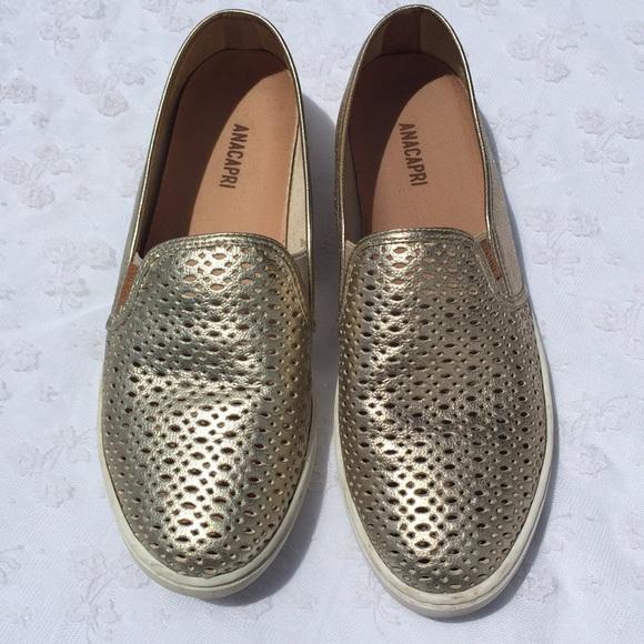 Anacapri Lazer Cut Slip On LoafersSneakers